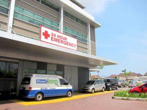 Siloam Hospital in Bali, Indonesia