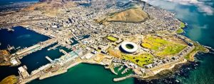 Landscape of Cape Town, South Africa